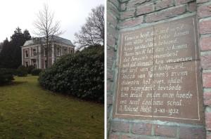 Museum Kranenburgh - Gedicht Holst