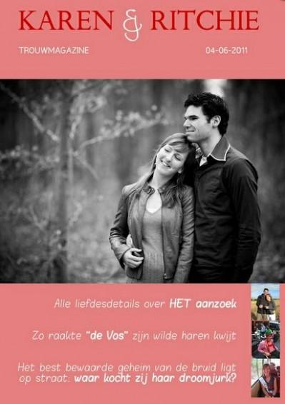 Mijn weddingzine - Foto: Jilster, Coverfoto: Mon et Mine